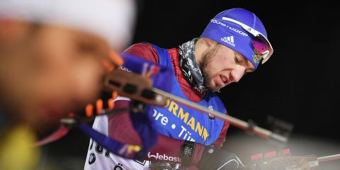 Биатлон, мужской спринт 11 января 2019, итоги