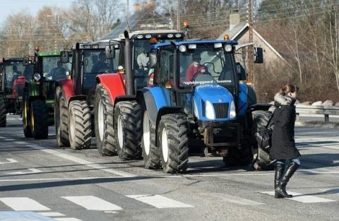 Журналист, приехавший снимать «тракторный марш», заявил о нападении
