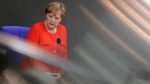 Меркель призвала к созданию европейской армии