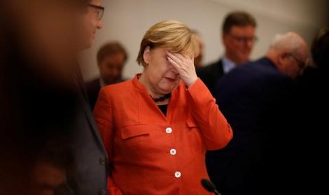 Ангела Меркель получила письменный протест против «Северного потока-2»
