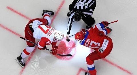 Олимпиада 2018, хоккей Россия-Словакия, счет