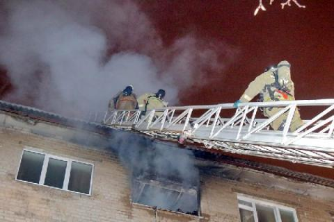 Пожар в детской больнице Твери