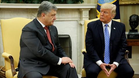 Трамп рассказал Порошенко о теме переговоров с Путиным, дал ему обещание и выслушал советы
