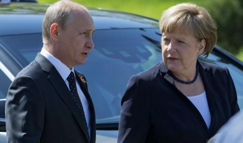 Букет цветов от Путина немецкие СМИ назвали оскорблением Меркель