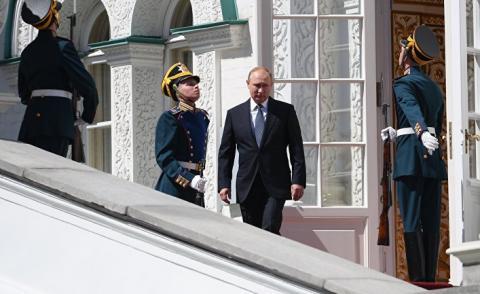 Путин рассказал об ответных действиях после крушения Ил-20
