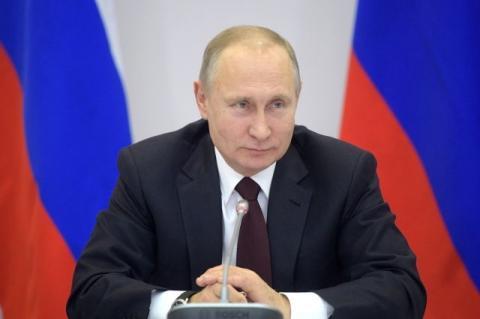 Путин обратился к гостям и участникам чемпионата мира по футболу 2018