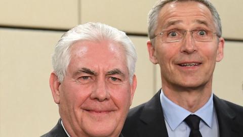 Тиллерсон: США хотят присоединения НАТО к коалиции против ИГ