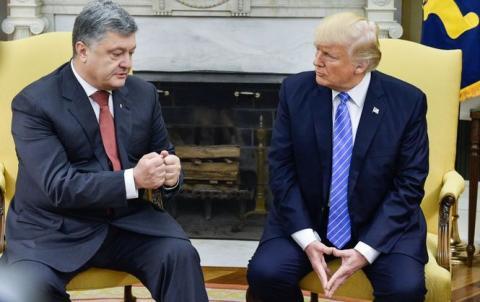 Стало известно, для чего на самом деле Порошенко встретился с Трампом