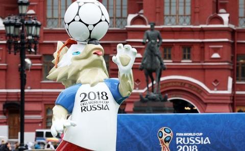 FIFA «установила» на Спасской башне крест вместо звезды