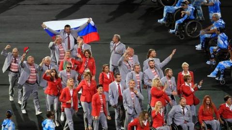 Подробности паралимпиады: колясочников из Белоруссии скрутили и отобрали российские флаги