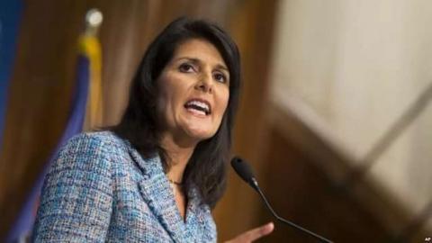 Постпреда США при ООН освистали и обвинили в геноциде