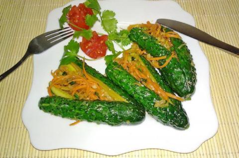 Огурцы по-корейски: пошаговый рецепт оригинальной закуски
