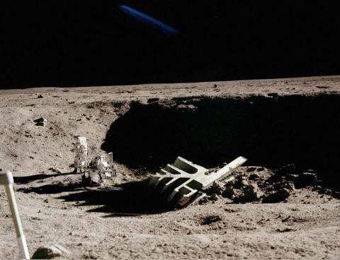 На Марсе огромный НЛО с пропеллером поражает ученых НАСА нечеловеческими возможностями