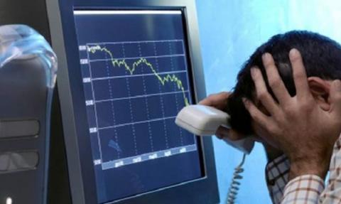 Падение акций