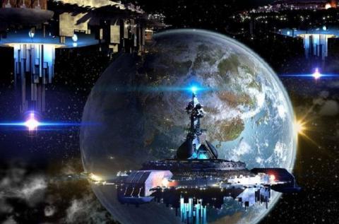 Инопланетяне контролируют Землю: спутники пришельцев замечены на орбите планеты