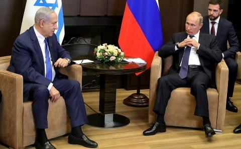 Лавров раскрыл детали переговоров Путина и Нетаньяху