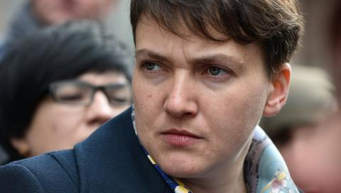 Савченко хочет стать президентом Украины