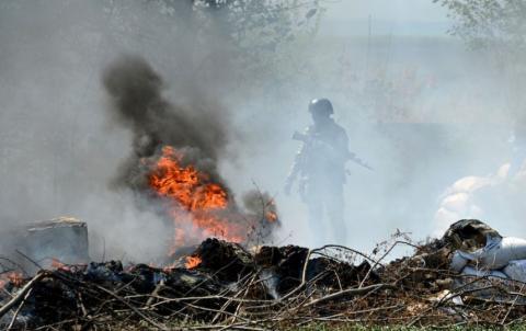 Штаб ВСУ взлетел на воздух под Донецком