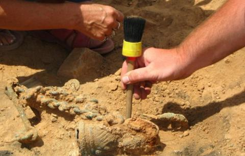 Древнюю «зажигалку», возрастом 9 тысяч лет, обнаружили археологи в Израиле