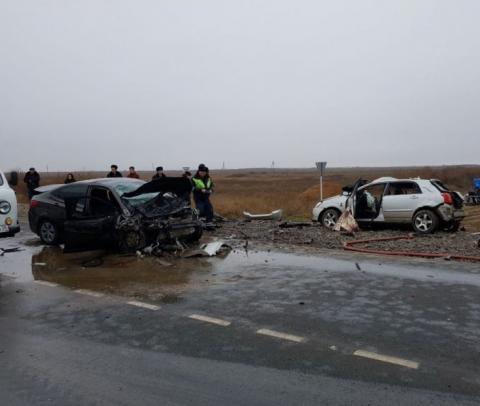 ДТП в Астраханской области унесло жизни 6 человек