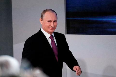 Большая пресс-конференция В.В Путина 2016: президент порадовал положительной динамикой в экономике