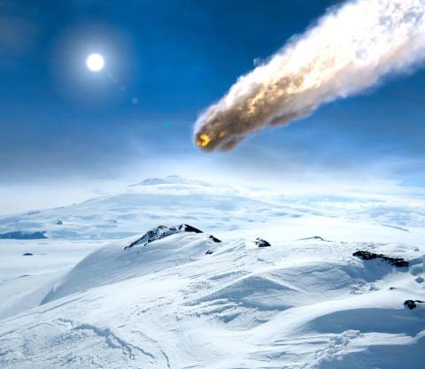 Привет от инопланетян: в Антарктиде обнаружено большое количество «подарков» из космоса