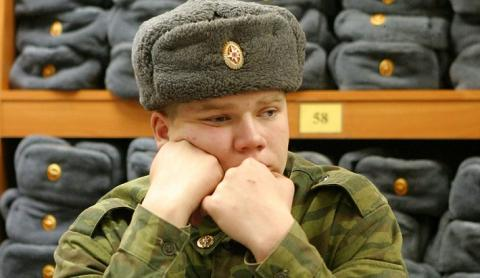 Солдат-срочник