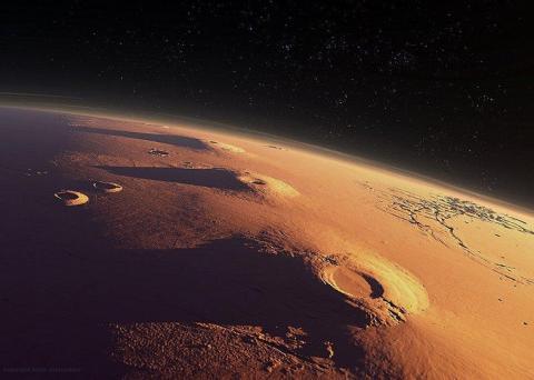 Загадочный круг на Марсе: специалисты обсуждают снимок, опубликованный NASA