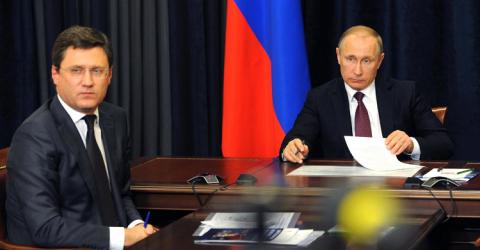 Путин и Новак