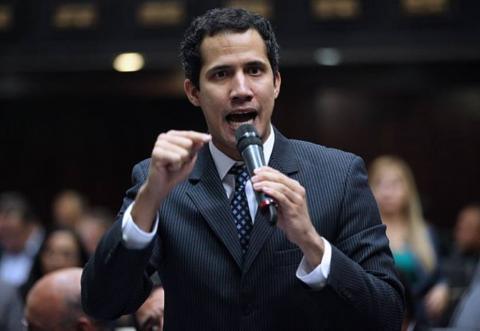 Гуайдо объявил о дате встречи своего представителя с военными США