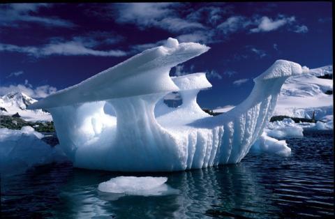 Прибывший к берегам Антарктиды объект странной формы поразил ученых