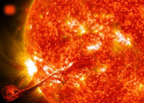 Вспышки на Солнце вызывают инопланетяне: уфологи нашли доказательства