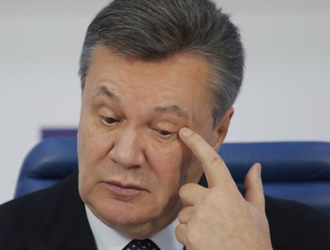Янукович заочно осужден на Украине