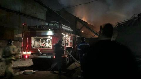 пожар в Северной Осетии