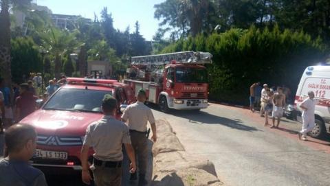 Пожар в Кемере