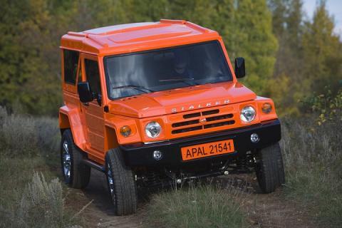 Новый российский внедорожник «Сталкер» выпустят на базе Lada 4x4