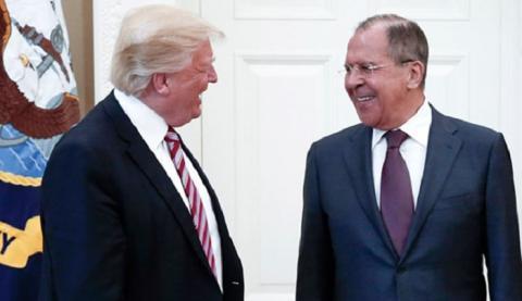 Трамп и Лавров
