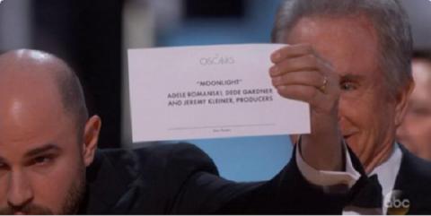 Оскар 2017, скандалы