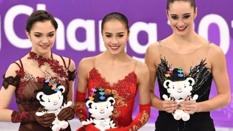 Фигурное катание, Олимпиада 2018, женщины