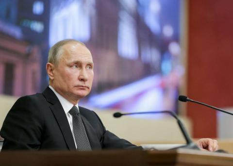 Владимир Путин сообщил об отношении Москвы к учениям НАТО у границ России