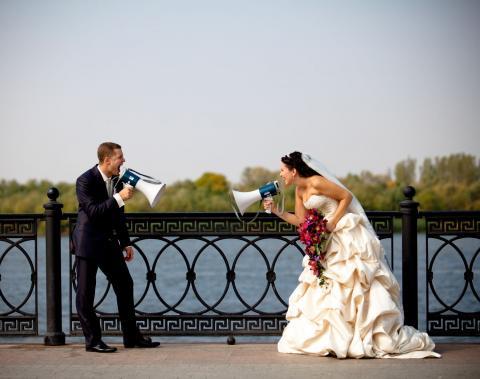 В Северной Осетии молодожены получили НЛО на свадьбу в качестве подарка
