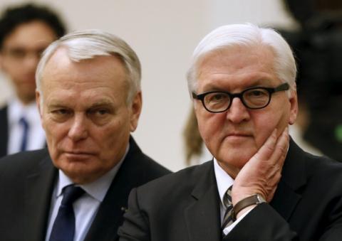 Недовольные «Минском» жители Краматорска обратили в бегство Эро и Штайнмайера