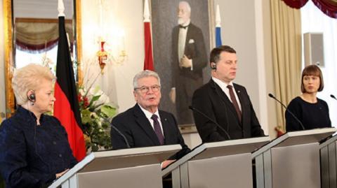 Президенты Литвы, Латвии, Эстонии