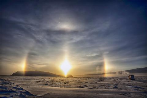 Инопланетяне чудят в Антарктиде