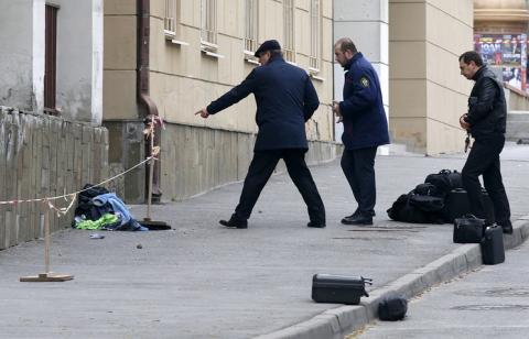 Взрыв в Ростове