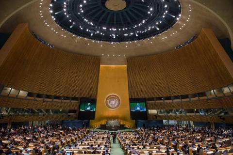 Генассамблея ООН поддержала предложение РФ по кибербезопасности
