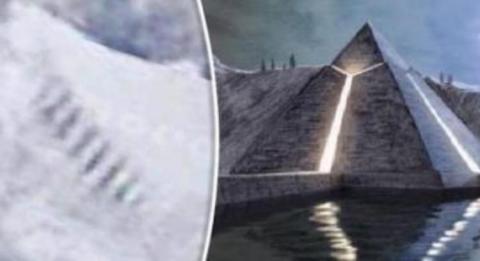 Загадочная лестница, найденная в Антарктиде, может являться остатками древней цивилизации