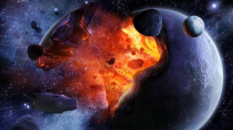 Последнее предупреждение: 1 сентября с Землей столкнется огромнейший астероид, размеры которого катастрофичны