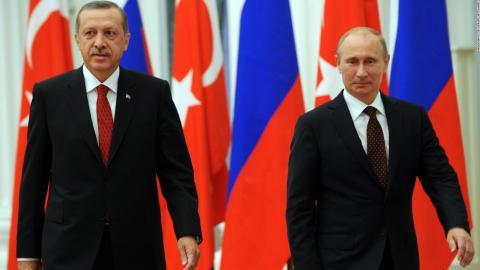Стала известна дата переговоров Путина и Эрдогана в Сочи