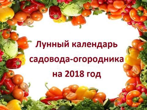 Лунный календарь садовода и огородника на март 2018: таблица благоприятных дней для посадки рассады